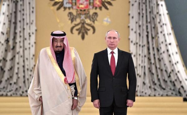 Путин и Король