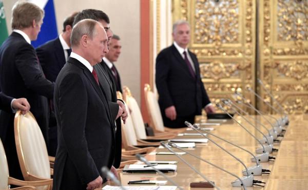 Путин и Король и РМ