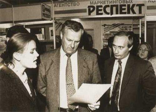 Собчка и Путин