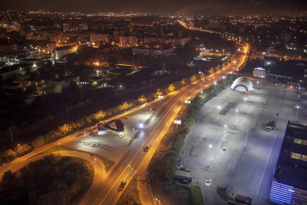 Челябинск ночной