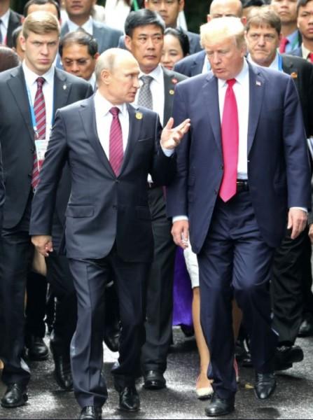 Путин и Трамп 1