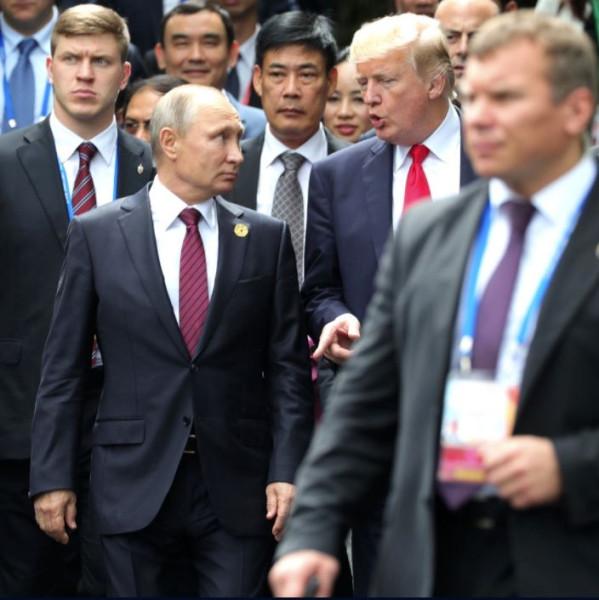 Путин и Трамп 2