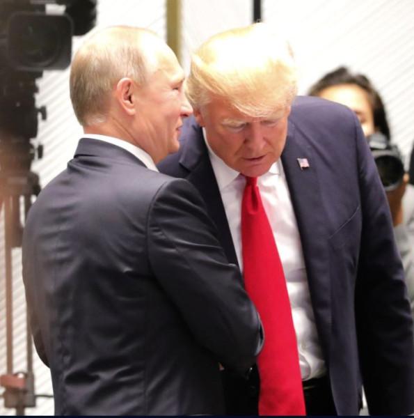 Путин и Трамп 3