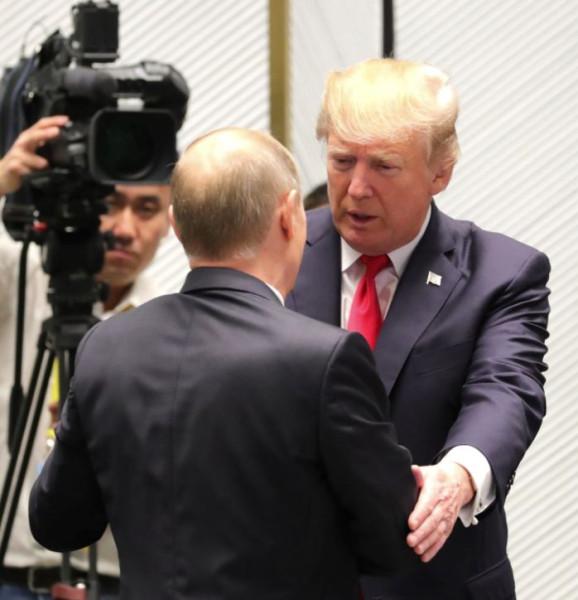 Путин и Трамп 4