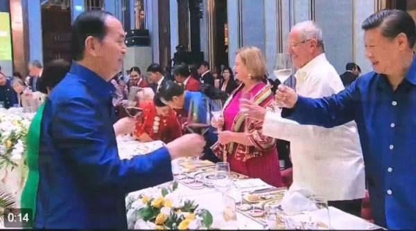 Вьетнам лидер Китая на приеме