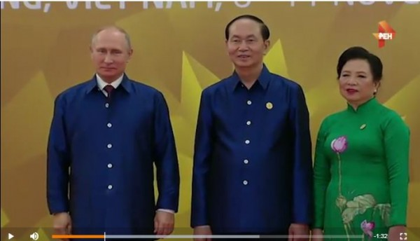 Путин во Вьетнаме