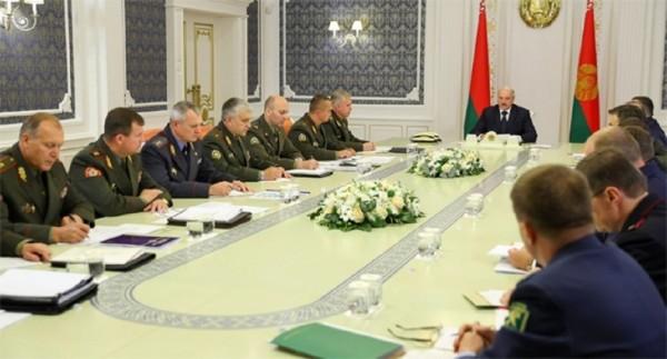 Лукашенко совешание