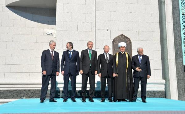 Соборная мечеть и гости