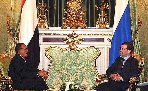 Салех и Медведев