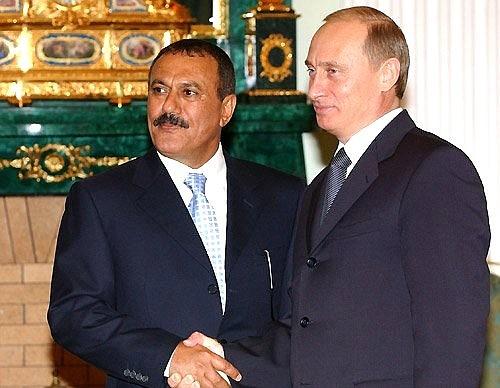 Салех и Путин