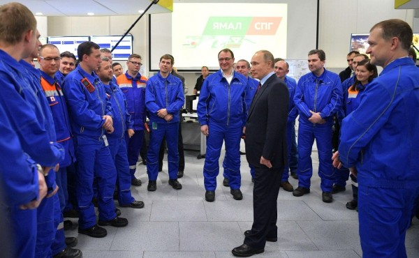 Путин на Ямале