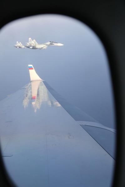 Путин летит в Сирию Самолет