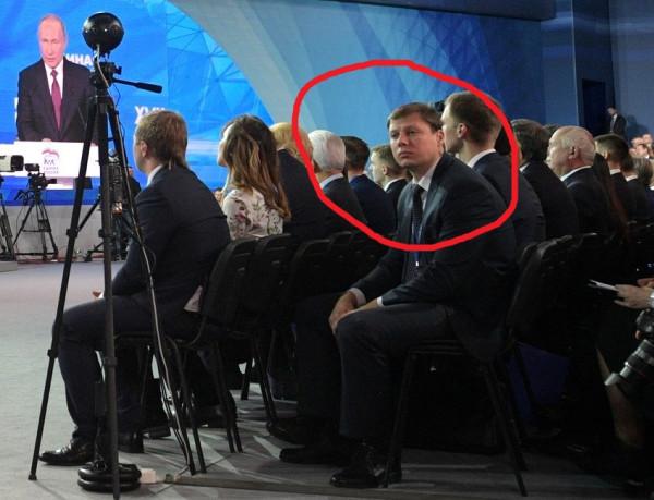 Путин на сьезде 2