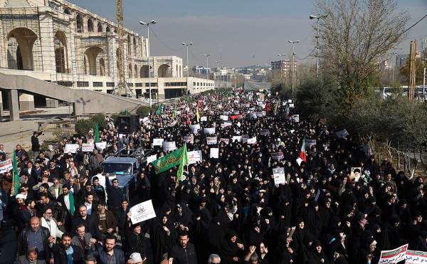 ИРАН протест