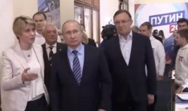 Путин в штабе