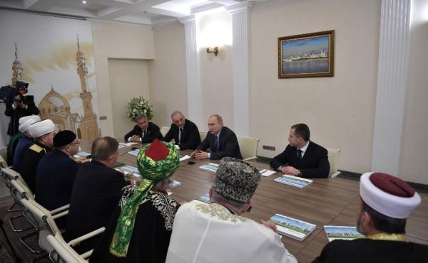 Путин и мусльмане 2