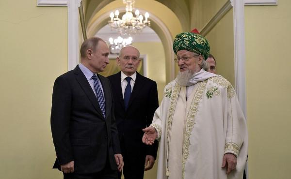 Путин и Талгат