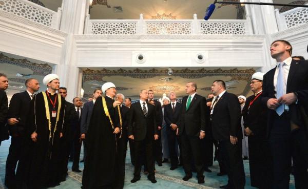Соборная мечеть в Москве