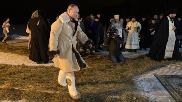 Путин в шубе
