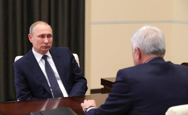 Путин с Аликперовым