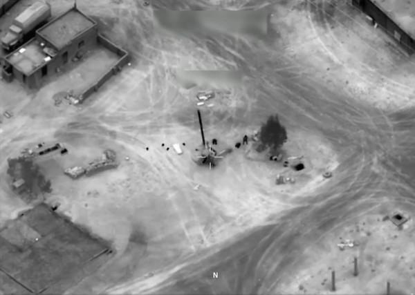 Сирия удар ВВС США