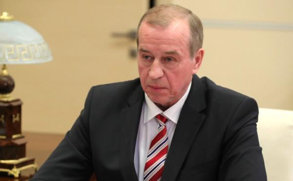 Путин и губернатор Иркутской облсати 2