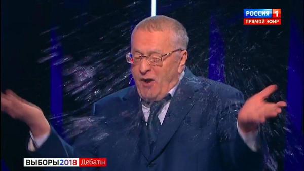 Жириновский на дебатах