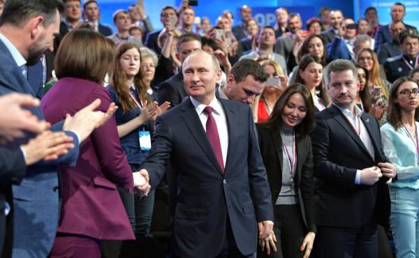 Путин на медиафоруме 4