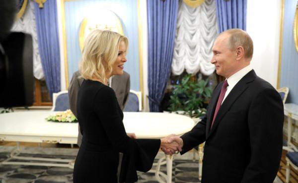 Путин и Келли