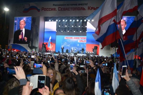 Путин в Севастополе
