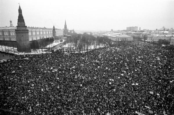 Миллионный митинг в Москве