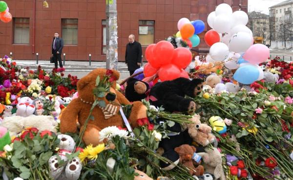Путин в Кемерово