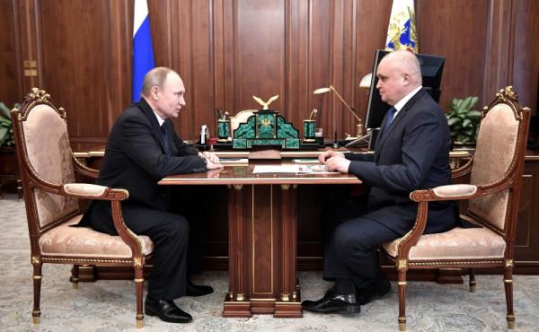 Цивилев и Путин