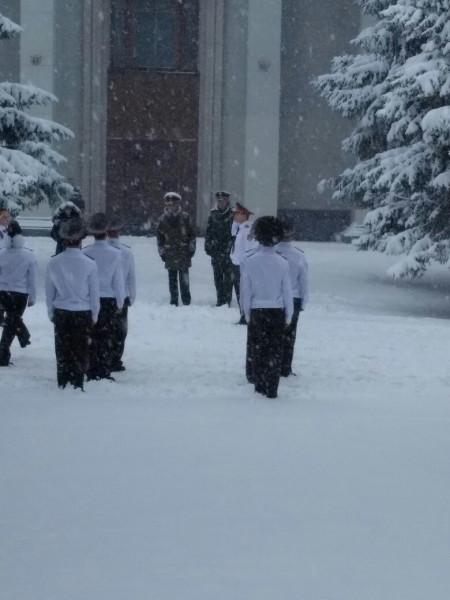 Дети в снегу 3