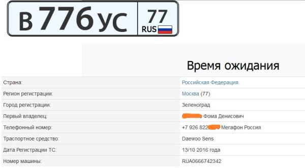 Путинский номер