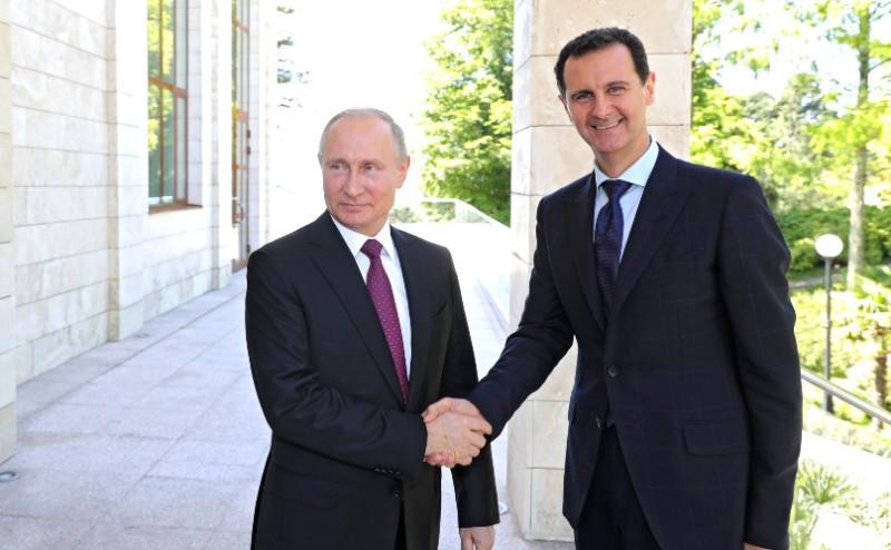 Асад в Сочи 2