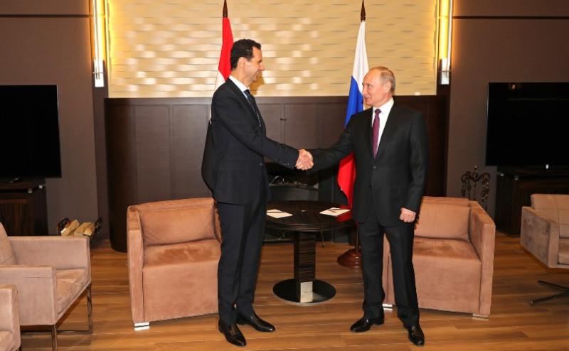 Асад в Сочи 3