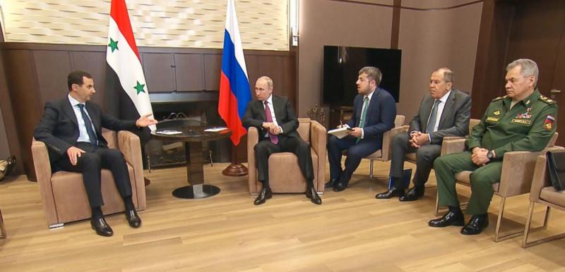 Асад в Сочи.и министры jpg