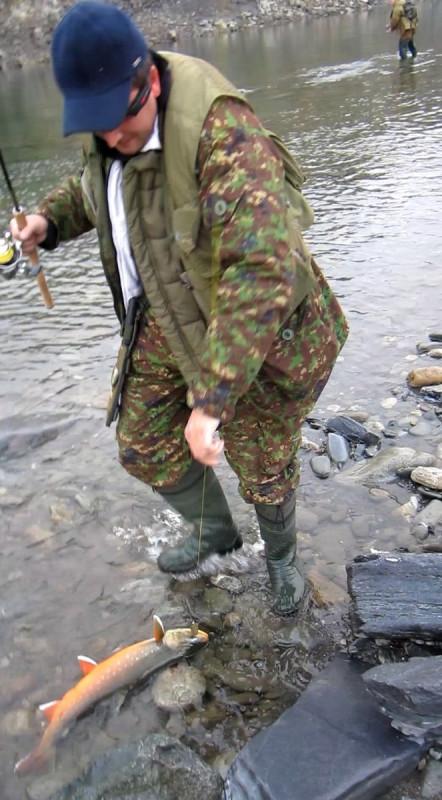 Кобылкин на рыбалке