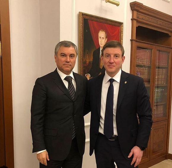 Володин и Турчак