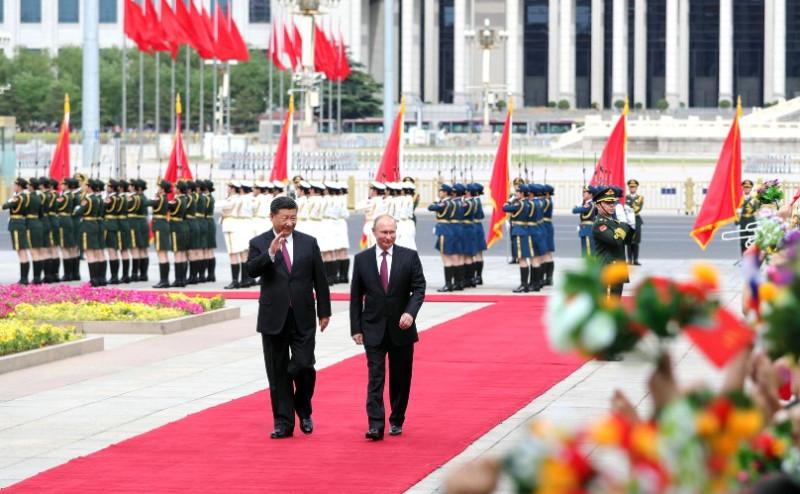 Путин в Китае 2