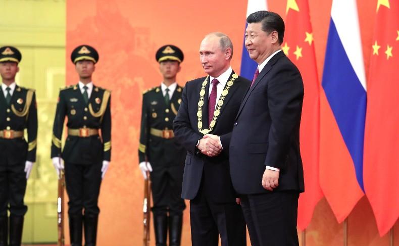 Путин в Китае орден