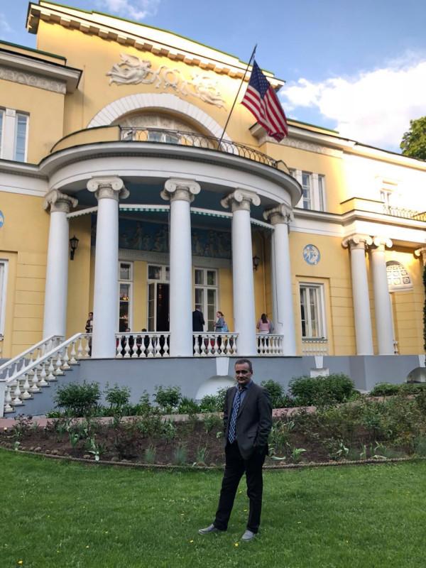 В резиденции посла США 1