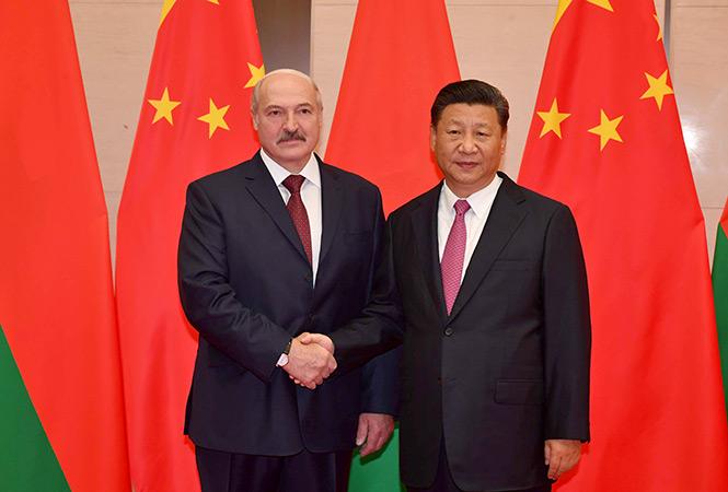 Главы Китая и РБ