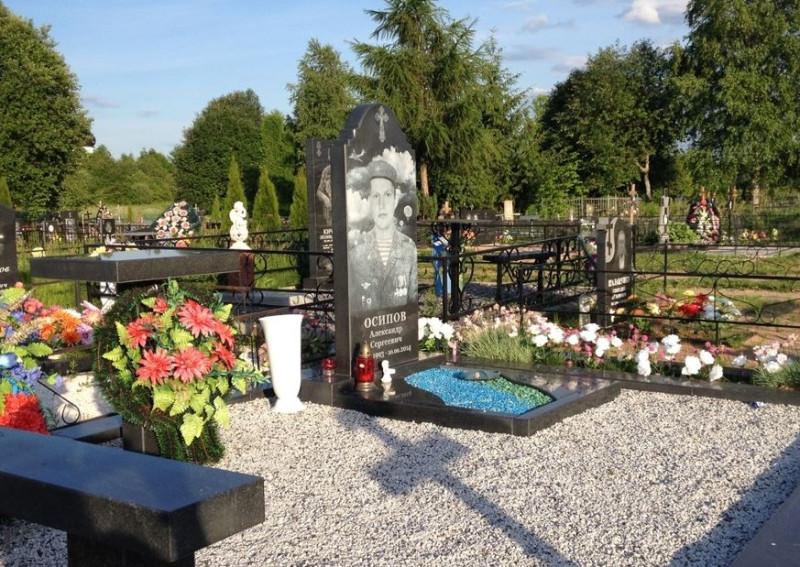 Псков кладбище