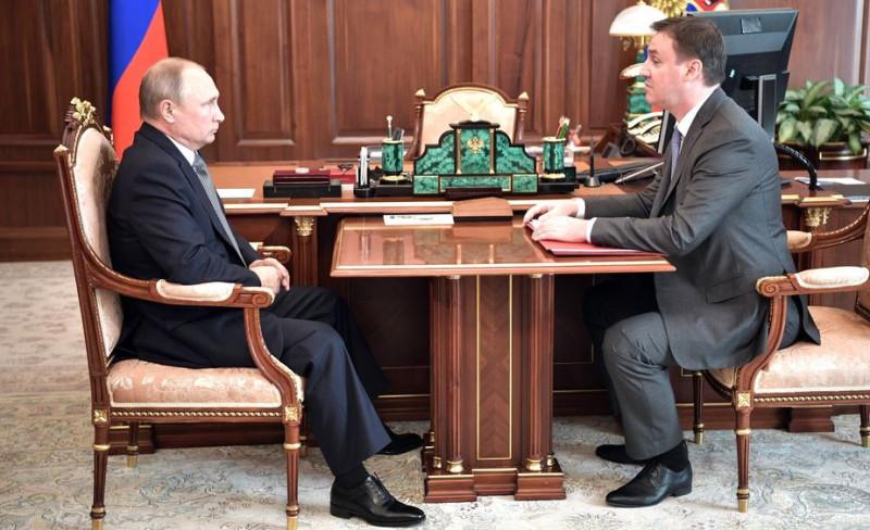Путин и Патрушев 2