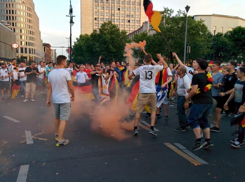 Германия ликует 2