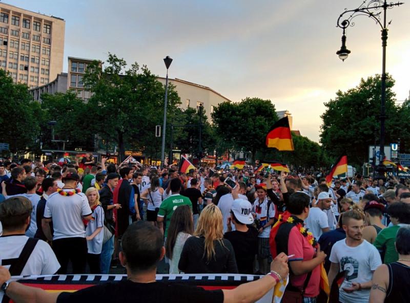 Германия ликует