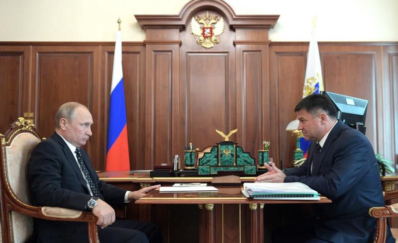 Путин встретился