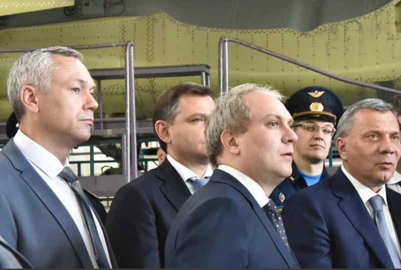 Путин встретлся Новосибирск 2